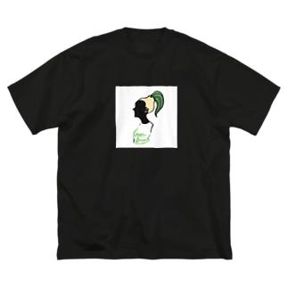 オニオンガール Big silhouette T-shirts