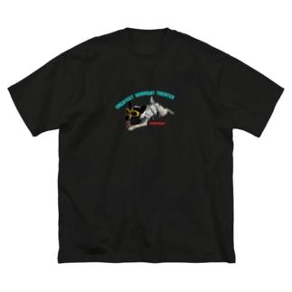 サメじゅーちゃん Big silhouette T-shirts
