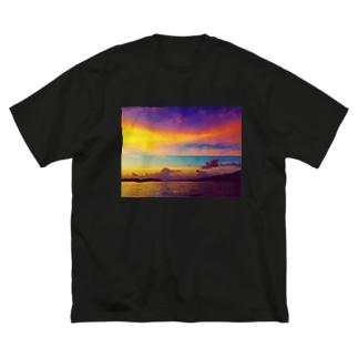 絶望と希望 Big silhouette T-shirts