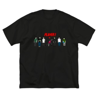 PLAYER 1 Big silhouette T-shirts