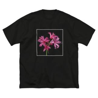 ネリネ Big silhouette T-shirts