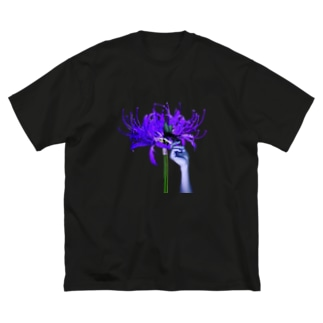 -否岸花- Big silhouette T-shirts