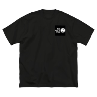 THE MOON FACE Big silhouette T-shirts