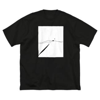 Line_01 Big silhouette T-shirts