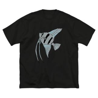 エンゼルフィッシュ Big silhouette T-shirts