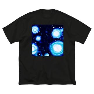 宇宙服Ⅲ Big silhouette T-shirts