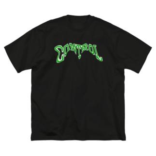 コントロール Big silhouette T-shirts