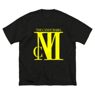 TCM Big Logo yellow Big silhouette T-shirts