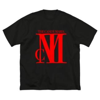 TCM Big Logo RED Big silhouette T-shirts