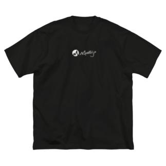 MMindful.jpロゴ(W) Big Silhouette T-Shirt