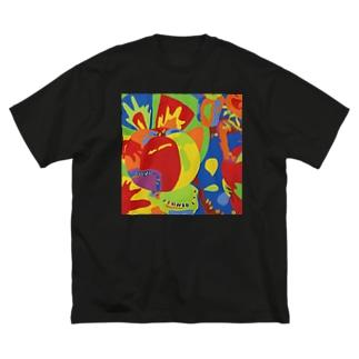 夏野菜 Big T-shirts