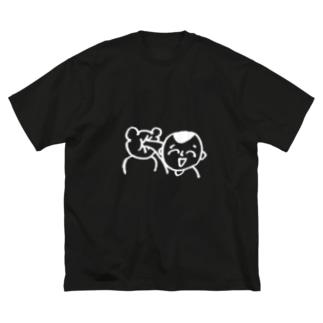 どつ(ダーク色) Big T-shirts