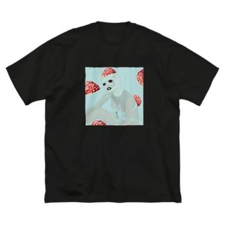 マミー Big silhouette T-shirts