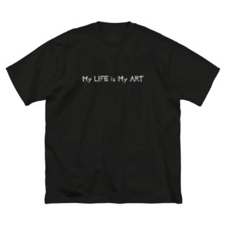 My LIFE is… Big silhouette T-shirts