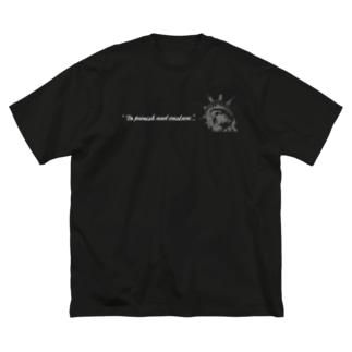 自由の女神 Big silhouette T-shirts