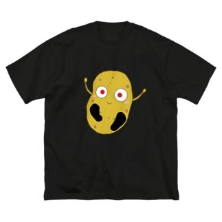 じゃがいもくんビッグシルエットTシャツ Big silhouette T-shirts