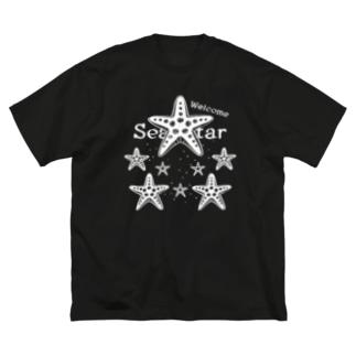 表_CT139 Welcome!ヒトデ*B Big silhouette T-shirts