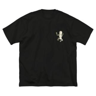 レントゲンちゃん Big silhouette T-shirts