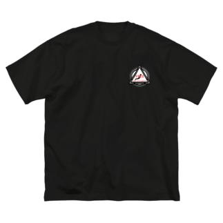 PRBB Hinomaru Japan Big silhouette T-shirts