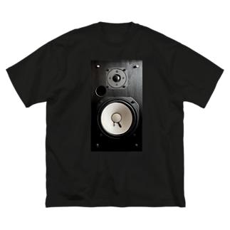 スピーカー Big silhouette T-shirts