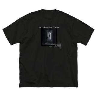 曹源一適水 Big silhouette T-shirts