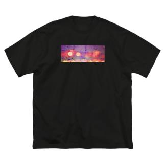 ちいさなきらきら Big silhouette T-shirts