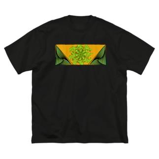 砂漠 Big silhouette T-shirts
