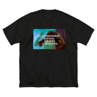 Takano-T psyche Big silhouette T-shirts