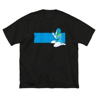 2021S B Big silhouette T-shirts