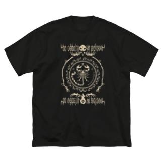 erubakki_毒を以て Big silhouette T-shirts