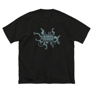 どうでもいい時間 Big silhouette T-shirts