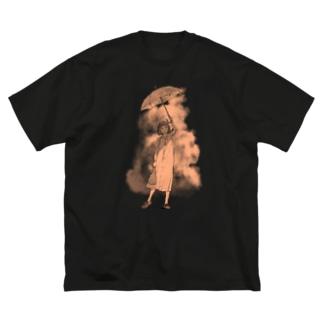 サマー_U Big silhouette T-shirts