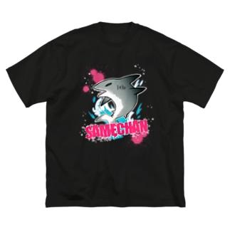 UNFのサメちゃんTシャツ Big T-shirts