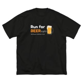Run for BEERシリーズ Big T-shirts