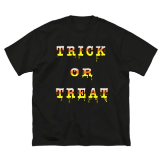 Candy Cone Trick or Treat Big silhouette T-shirts