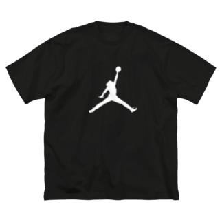 ジョーダン…? Big silhouette T-shirts