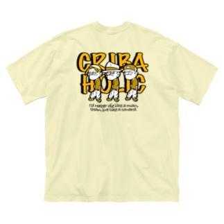 """GANG"" (YELLOW) Big silhouette T-shirts"