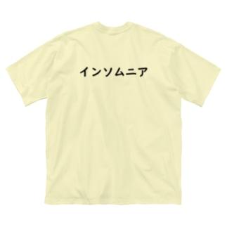 インソムニア Big silhouette T-shirts