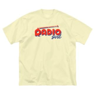 RADIO girl Big silhouette T-shirts