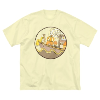 船の日常1 Big silhouette T-shirts