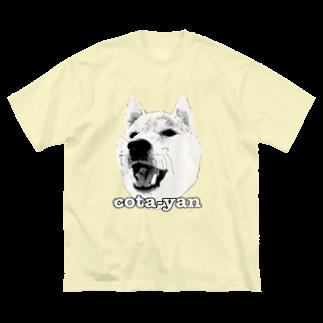faotaroのcota-yan Big silhouette T-shirts