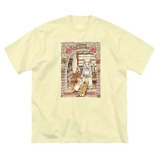 グランマのシュトーレン Big silhouette T-shirts