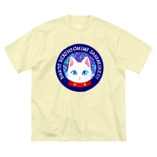 キラキラマイカ Big silhouette T-shirts