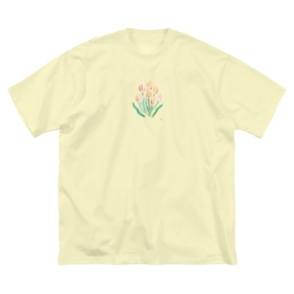 tulip Big silhouette T-shirts