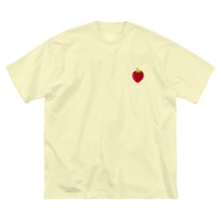 strawberry🍓 Big silhouette T-shirts