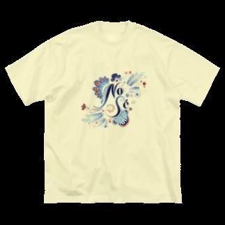 akaneyabushitaのNo Sé Big silhouette T-shirts