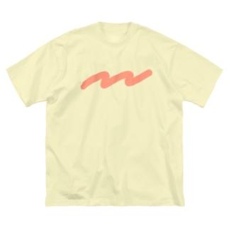 なみなみ Big silhouette T-shirts