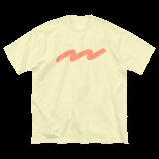 kameのなみなみ Big silhouette T-shirts