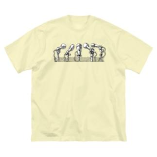 インタビュー ver. Big silhouette T-shirts