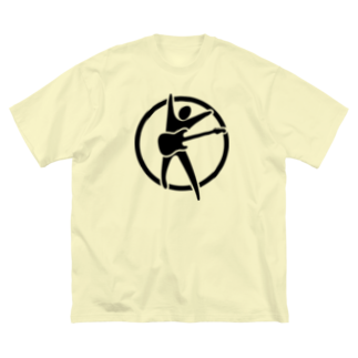 booya!のストラトクホ Big silhouette T-shirts